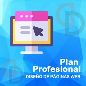 Diseño de páginas web en Ecuador - Plan Profesional